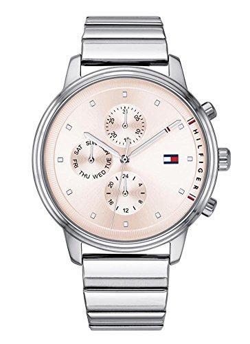 Tommy Hilfiger Reloj Multiesfera para Mujer de Cuarzo con Correa en Acero Inoxidable 1781904