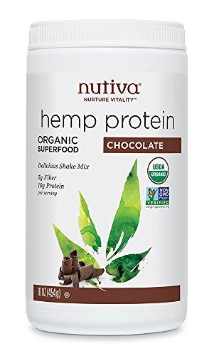 Nutiva - Hempshake Protéine organique saveur chocolat (16oz, 454g)