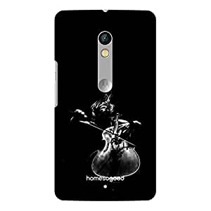HomeSoGood Music Brings Passion Black For Moto X Play (Back Cover)