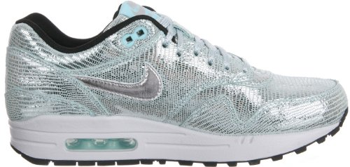 Nike, WMNS Air MAX 1 Essential, Scarpe sportive, Donna Argento