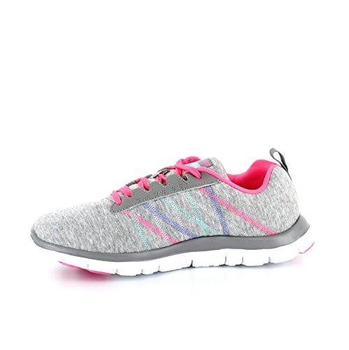 Skechers - Flex Appeal - Miracle Worker, Sneakers da donna Light Grey/pink
