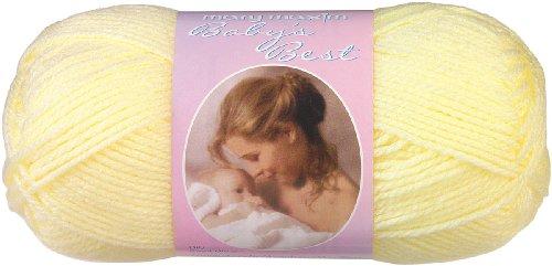 Mary Maxim Baby's Best Yarn-Yellow (Maxim-baby Mary)
