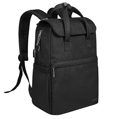 Inateck Ultraleichter Freizeit Rucksack Schulrucksack mit USB-Anschluss und Anti-Diebstahl-Design, Daypack Backpack Kompatibel mit 15 Zoll-MacBook Pro/ 14 Zoll-Laptop