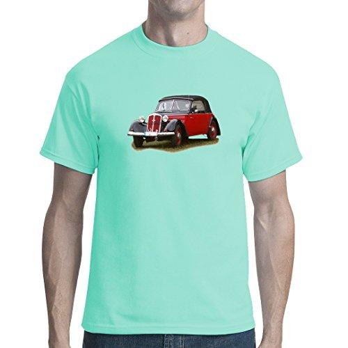 DDR Ossi unisex T-Shirt - DKW F7 mit geschlossenem Verdeck by Im-Shirt Mint