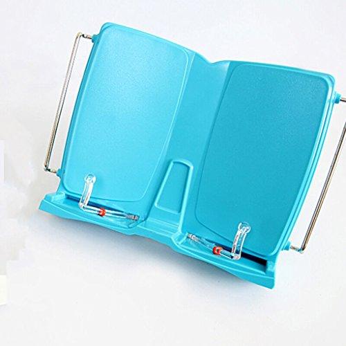 DFHHG® Libro Estantería Estantería Estantería Plegable 305 * 225 * 77mm Azul durable