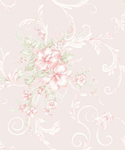 vinyl-tapete-barock-retro-beige-creme-rosa-grun-fujia-decoration-68651