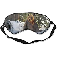 Bears With Snow Sleep Eyes Masks - Comfortable Sleeping Mask Eye Cover For Travelling Night Noon Nap Mediation... preisvergleich bei billige-tabletten.eu