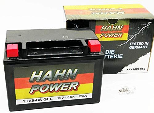 Batterie YTX9-BS-GEL HAHN-POWER