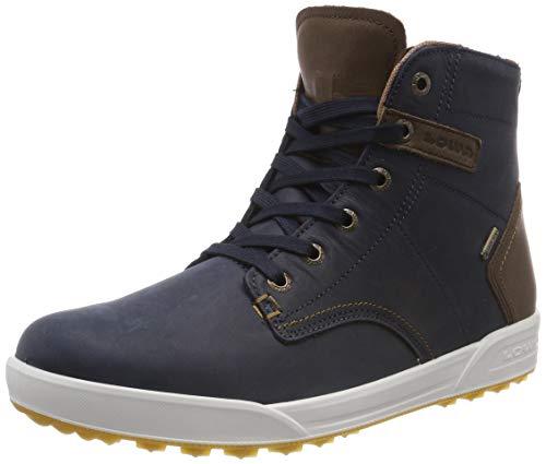 Lowa Herren London II GTX QC Hohe Sneaker, Blau (Navy/Brown), 43.5 EU