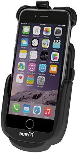 Bury S9Base Car Active Holder Black-Holders (Mobile Phone/Smartphone, Car, Active Holder, Black, Apple iPhone 6/6S Plus, Cigar Lighter) (Mobile Ladeschale)
