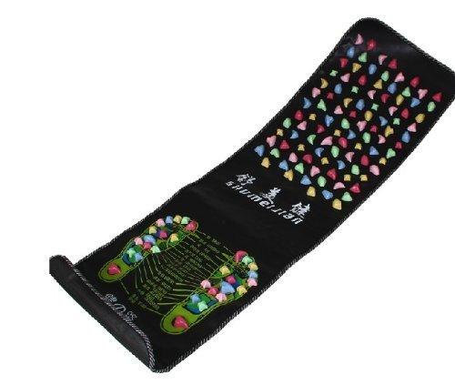 DecentGadget Foot Massage Mat Health Care Acupuncture Shiatsu Circulation Reflexology// DecentGadget Foot Massage-Matte Health Care Akupunktur Reflexzonenmassage Shiatsu Auflage