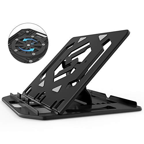 DNSK10 Notebook Stand Halswirbel Desktop Büro Computer Lift Faule Tragbare Halterung Kühler Vertikales Regal Erhöhen Pad Basis Klappboden Kann Rotiert