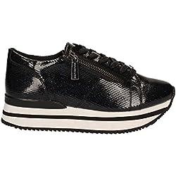 Fornarina PE17TI1001G000 Sneakers Bassa Donna NERO/BLU 35