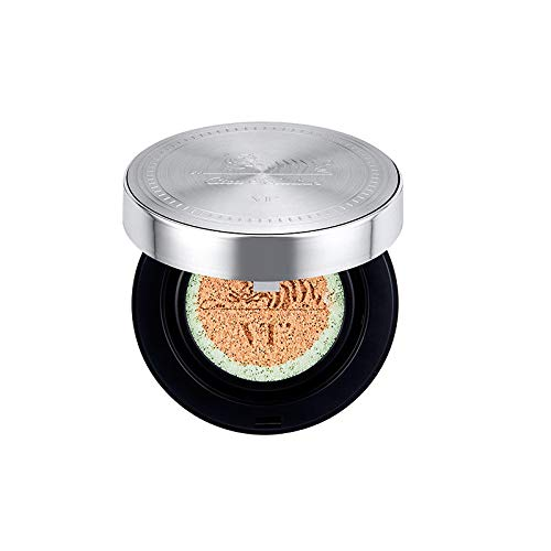 [VT] Cica Redness Cover Cushion 14g + Refill 14g (01#21 Light Beige) - Frame Green Matte