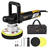 "Polisher, Ginour Car Sander Polisher 6"" Dual-Action Car Buffer/Waxer, 2000-6400OPM, High Performance Kit"