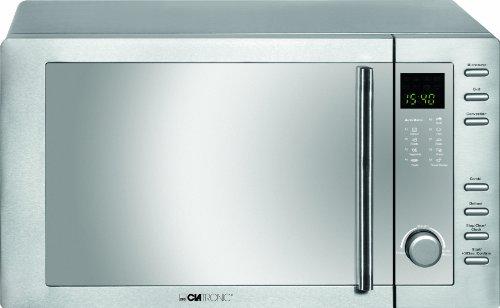 clatronic-mwg-775-h-mikrowelle-mit-grill-und-heissluft-23-liter-edelstahlgehause