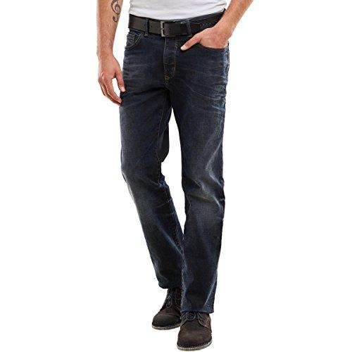 engbers Herren 3D Optik Jeans, 23898, Blau in Größe 38/32