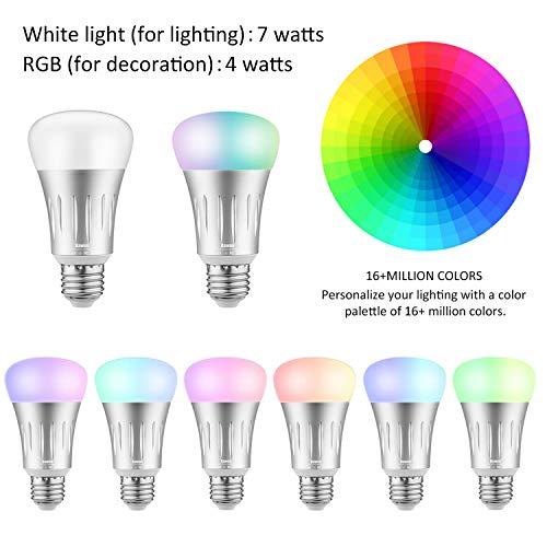 Eclairez votre intérieur intelligemment avec la lampe smart Bawoo - 41DIm2sSUrL - Eclairez votre intérieur intelligemment avec la lampe smart Bawoo