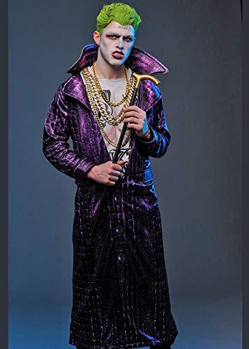 Kostüm Der Männer Joker - 8in1 Suicide Squad der Männer Das Joker-Abendkleid-Kostüm Std. (up to a 44