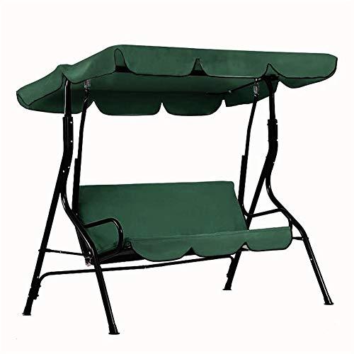 Mississ Outdoor Swing Canopy Und Swing Sitzbezug, Swing Glider Leisure Chair Staubschutz, UV-Schutz Sonnenschutz Outdoor Staubschutz Way -