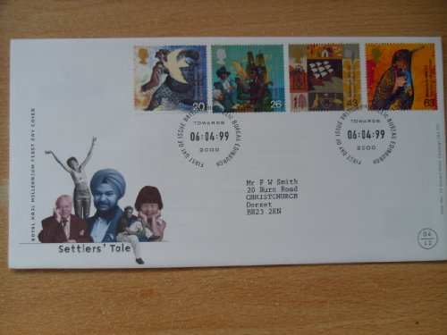 1999 Siedler Tale Millennium First Day Cover