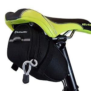 41DInMqXzRL. SS300 VeloChampion borsello sottosella Speed, Nero - Speed Bike Seat Pack in Black