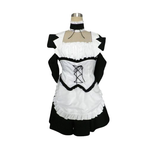 Preisvergleich Produktbild Dream2Reality Kaichou wa Maid-sama Cosplay Kostuem - MAID LATTE Maiden 1st Ver Large