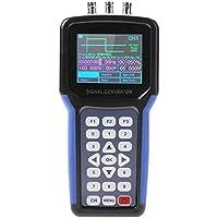 Akozon Generador de señales de mano digital, 30MHz 2 canales Medidor de frecuencia S4R2 (AC110-220V)