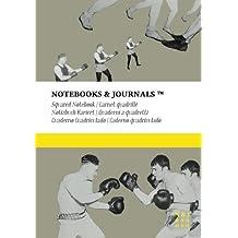 Carnet Quadrillé B5 Notebooks & Journals, Boxe (Collection Vintage), Extra Large: Couverture souple (17.78 x 25.4 cm)(Carnet de Notes, Carnet de Voyage, Cahier de Texte)