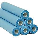 6RLX Bettwäsche Prüfung blauen Plast. gauf. 2lagig Colles-180FTS 50x 38cm 36Gro/PE/M² -j267gsm