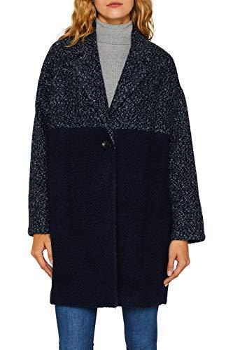 Esprit 099ee1g009 Abrigo, Azul Navy 5 404, Small para Mujer