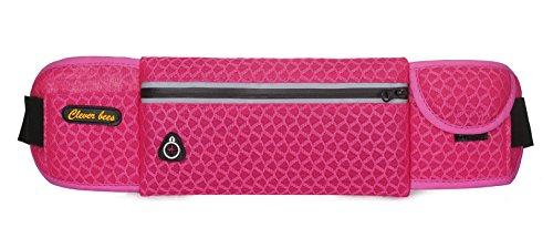 5 All Sling-Rucksack Sling Bag Chest Pack Taschen HANDY Tasche Outdoor Sports Camouflage Trekkingrucksack als Radfahr Jogging-Rucksack Kettle Paket Pink A2