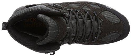 Jack Wolfskin All Terrain - chaussures trekking Femme - Texapore gris/noir 2014 chaussures montagne Noir (Shadow Black 6101)