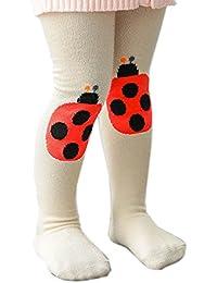 Sannysis rodilleras protector para bebé calcetines niños medias de algodón