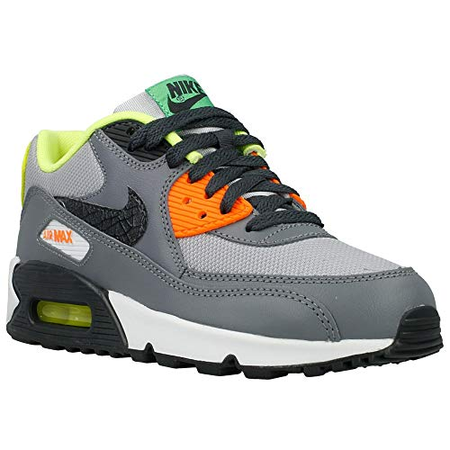 Nike Unisex-Kinder Air Max 90 Krabbelschuhe, grau, 38 EU