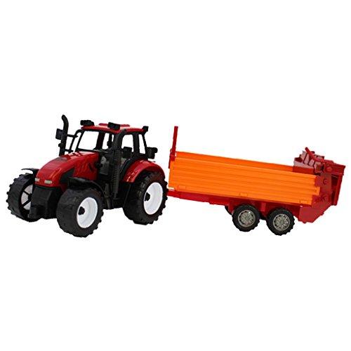 Generic New Designed Diecast Toy Tractors - Miniature 1:30 Kids Children Farm Toys#C