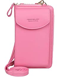Jangostor kleine Crossbody Tasche Handy - Tasche Brieftasche mit Credit Card Slots für Frauen