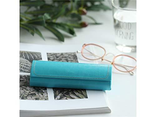 Young shinee Brillenetui Portable Gläser Box harten Brillen Fall mit magnetischen für Männer und Frauen (blau) für Lesebrille