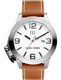 Danish Design - DZ120087 - Montre Homme - Quartz Analogique - Bracelet Cuir Marron