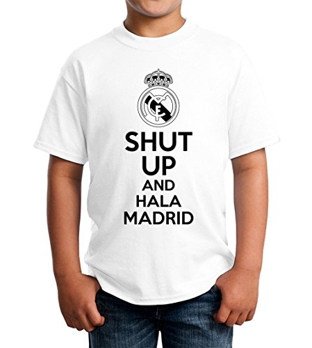 shut-up-and-hala-madrin-kids-unisex-t-shirt-5-13-ages-extra-small