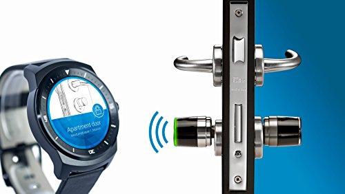 elektronischer schliesszylinder iseo libra smart schlieazylinder mit app bedienung 3 schlussel