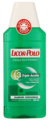 LICOR DEL POLO Triple Action Mundspülung 300 ml - Kinder