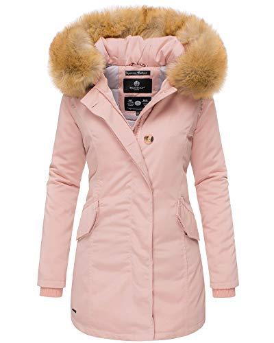Wellenstein mantel rosa