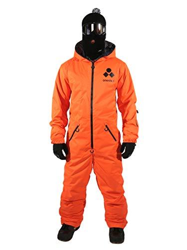 Herren Original Skioverall - Orange - M4