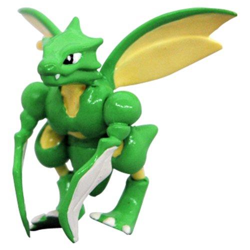 Pokemon: Best Wishes! (Schwarz + Weiß) Monster Collection Figur: Sichlor / Scyther
