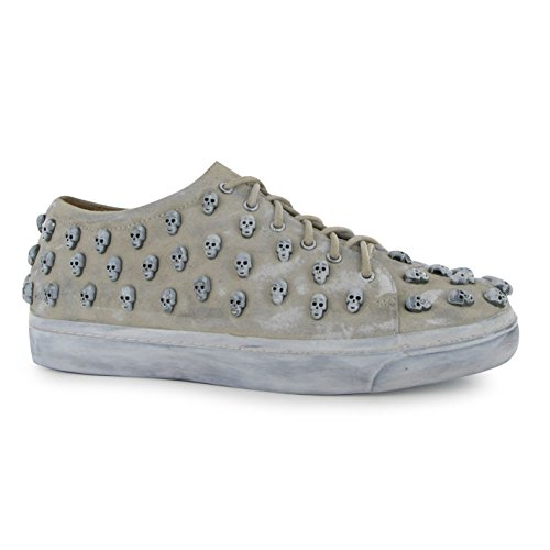 jeffrey-campbell-riggs-skull-trainers-womens-ivory-pewter-fashion-sneakers-shoes-uk6