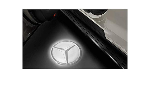 Mercedes Benz Led Projektor Mercedes Stern 2 Teilig Auto