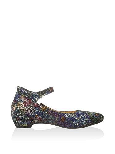 Think  Think Imma Schuhe multicolor print, bride cheville femme Multicolore - Multicolore