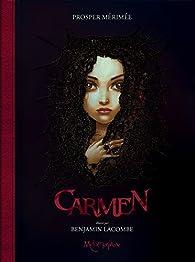 Carmen par Benjamin Lacombe
