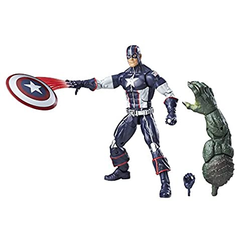 The First Avenger Captain America Marvel Legends: Captain America Age of X 15cm Action Figur (Cave Sammlung)